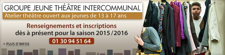 Groupe Jeune Théâtre Intercommunal 2015